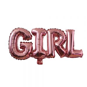 roze girl ballon