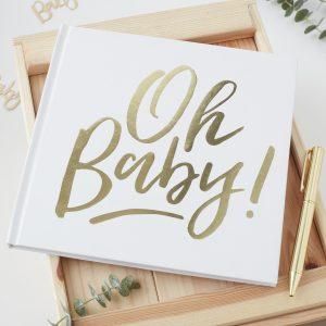 oh baby gastenboek schrijven
