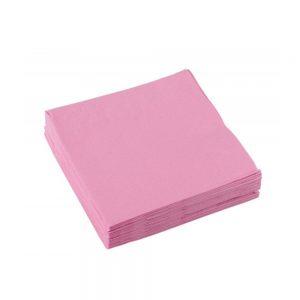 roze servetten gender reveal