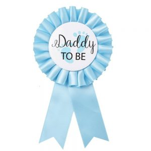 Daddy to be gender reveal baby shower