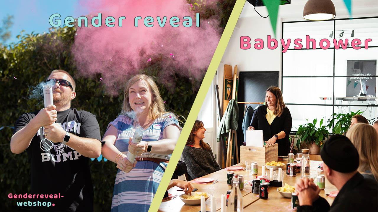 Gender reveal vs babyshower