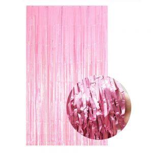 roze gender reveal backdrop achtergrond